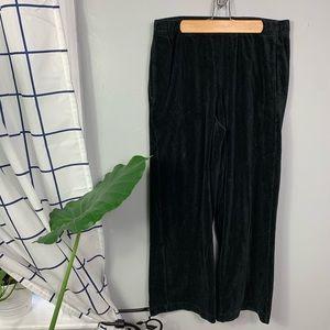 Vince Black Wide Leg Trouser Pants